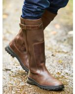 Le Chameau Jameson Leather Boot, Caramel