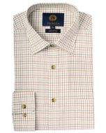 Viyella Classic Cotton Tattersall Shirt, Lovett