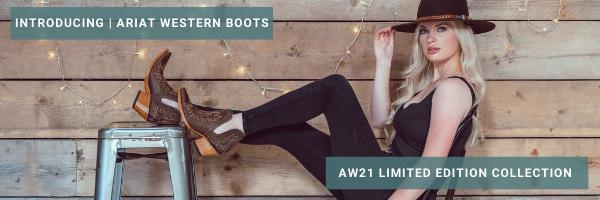New Ariat Western Boot Range